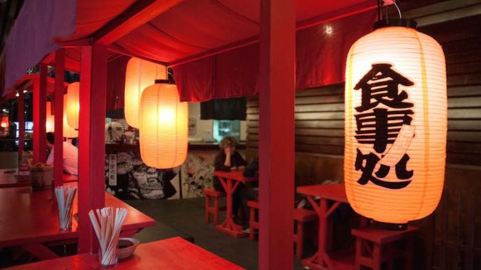 Hattori Hanzo taberna japonesa en el Centro