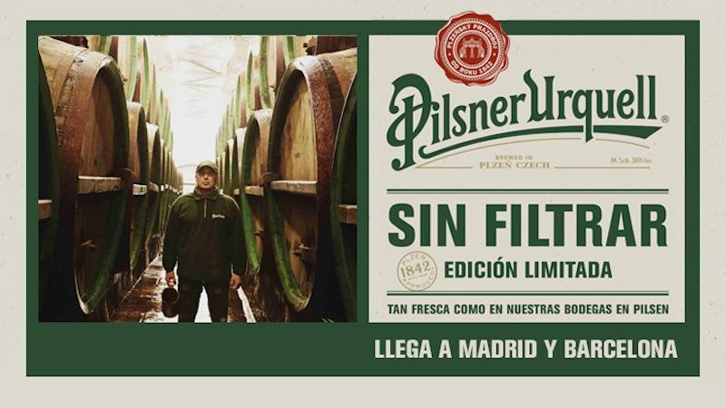 Pilsner Urquell Sin Filtrar