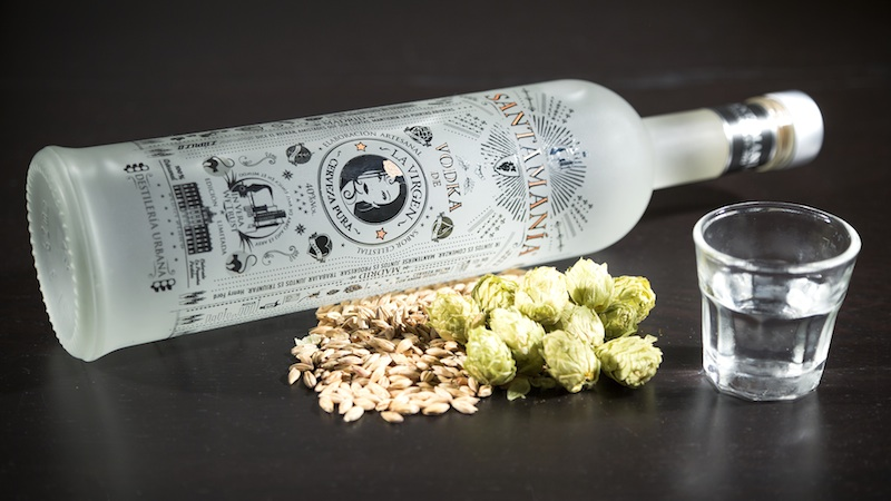 SANTAMANIA Vodka Cerveza LaVirgen