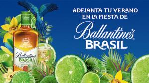 Ballantine's Brasil adelanta la llegada del verano