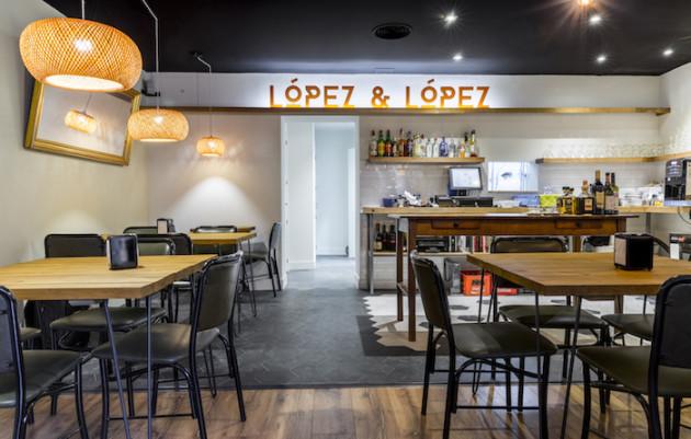 'López & López', pizzas de Madrid con el sabor de Italia