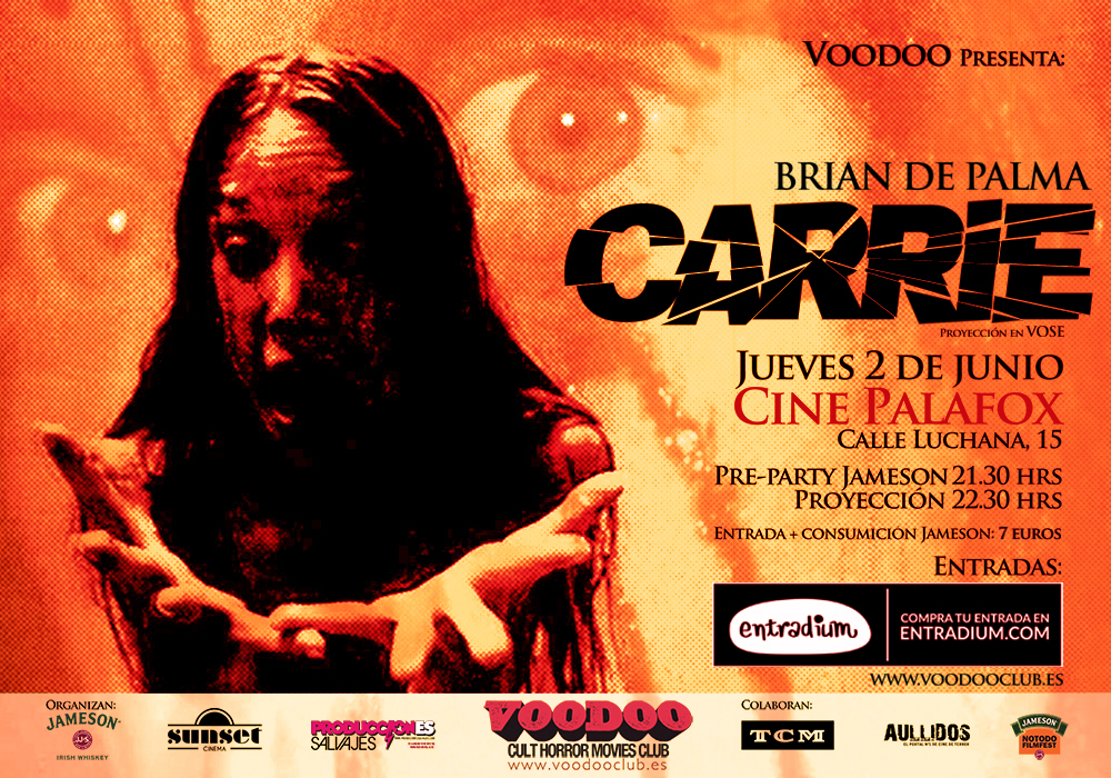 CARRIE - VOODOO Cult Horror Movies Club