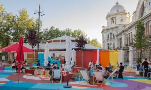 'El Andén', una terraza urbana llena de color
