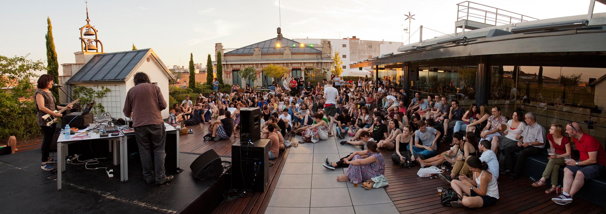 La terraza magn tica m sica y cine en la casa encendida for La casa encendida restaurante madrid