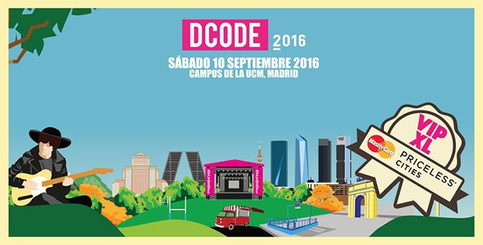 Entradas VIP XL festival Dcode | Mastercard