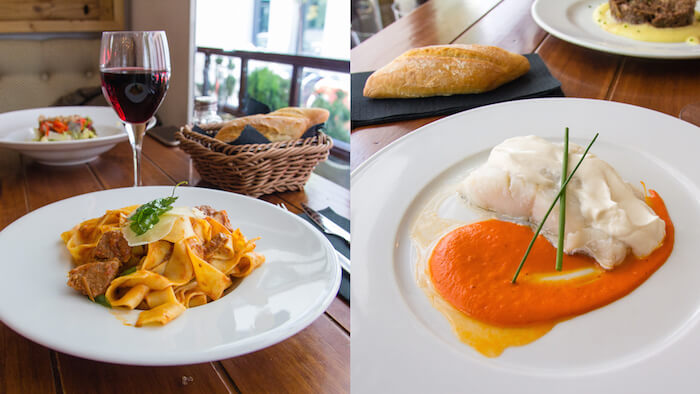 Restaurante Babel menú del día, Chueca