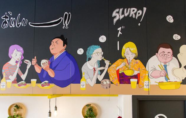 'Peko Peko', baos y 'street food' en el corazón de Chueca