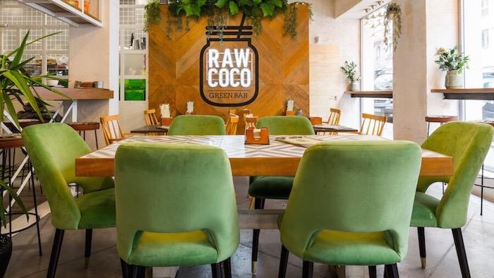Rawcoco Green Bar. Zumos detox y cocina saludable en el barrio de Salamanca