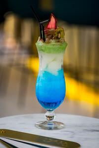 Garra Bar | Barra de coctelería del restaurante Somos, en el hotel Barceló Torre de Madrid