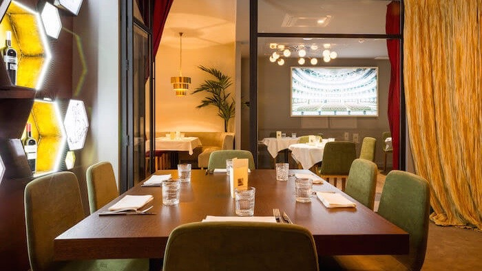 LA ATREVIDA restaurante dentro del hotel NH Lagasca