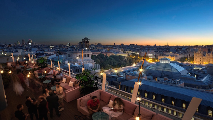 Seagram's New York Rooftop at Casa Suecia
