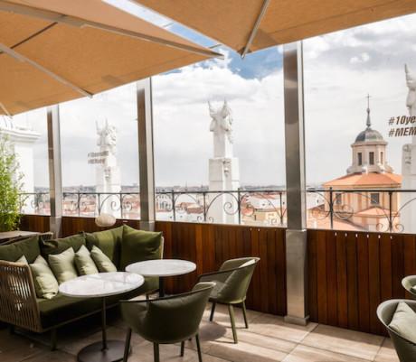 'Radio', alta cocina y cócteles en el cielo del Hotel ME Madrid