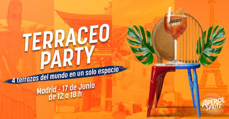 Terraceo Party Aperol, Museo Lázaro Galdiano
