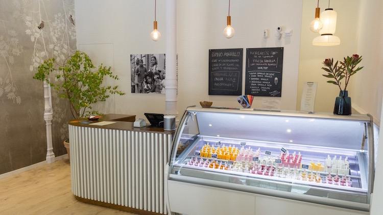 NORDIKOS polos y helados gourmet calle del Pez, Madrid