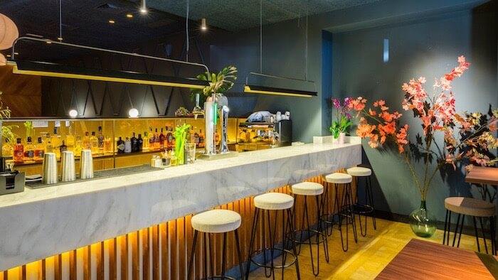 La barra de Soy Kitchen | Dim sum y coctelería de autor en Chamberí