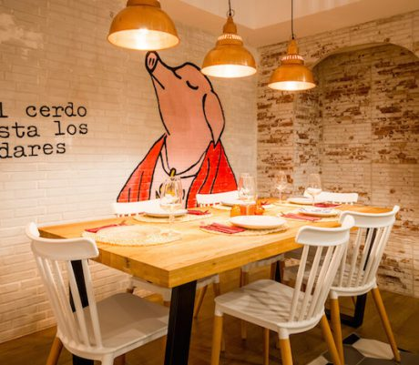La Porcinería, el primer bistró porcino de Madrid