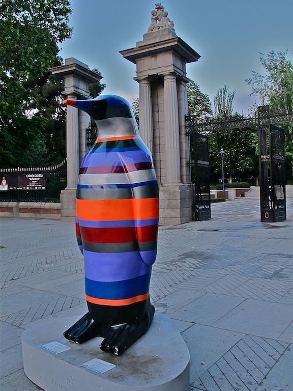 Pingüinos de Faunia en Madrid