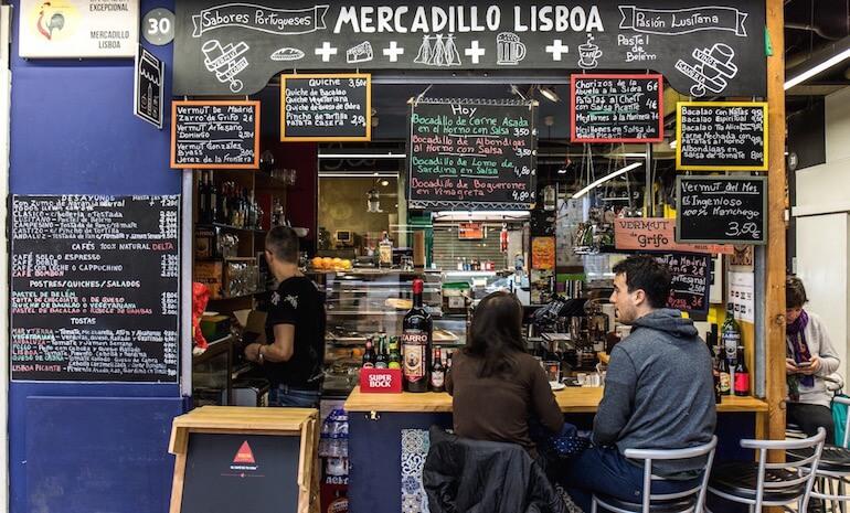 El mercado de Lisboa. San Fernando, mucho más que un mercado