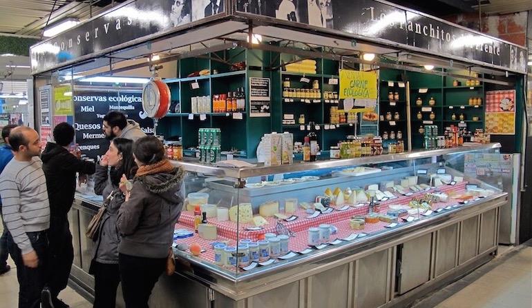 Los Panchitos de Enfrente, mercado de San Fernando