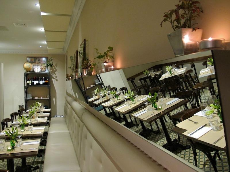 Café Murillo, bar restaurante en Madrid