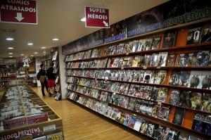 Tienda de cómics en Madrid, Akira