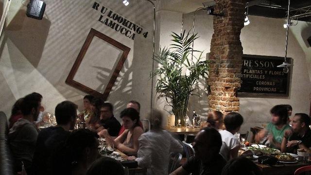 Bar restaurante en Malasaña, Lamucca de Pez