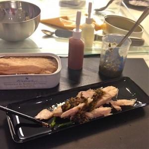 receta con ventresca Frinsa