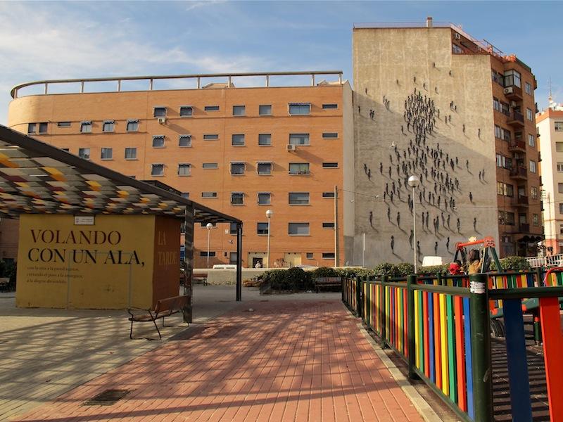 Arte urbano en Tetuan Madrid