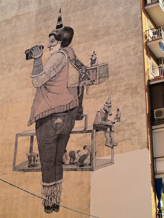 San Arte Urbano en Tetuan