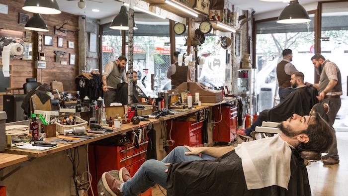 Bearbero barber a cl sica en la latina - La barberia de vigo ...