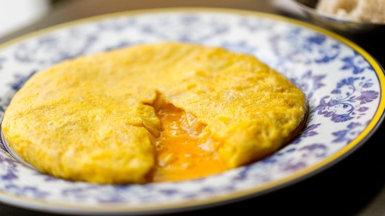TABERNA PEDRAZA Tortilla estilo betanzos