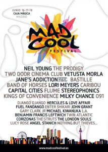 Mad Cool Festival - Madrid Diferente