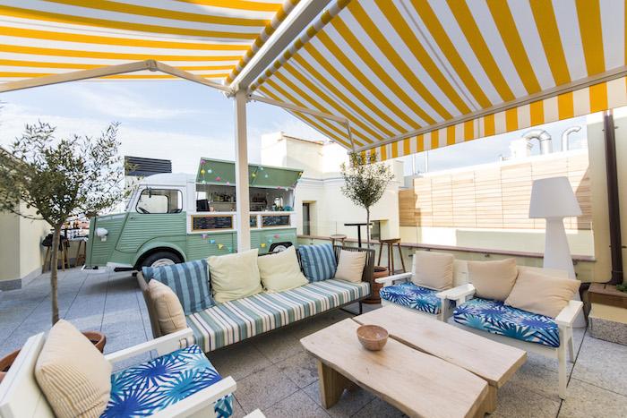 The Mint Roof Azotea Del Hotel Vincci De Gran Vía