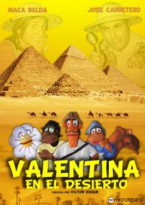 Cartel Valentina en el Desierto