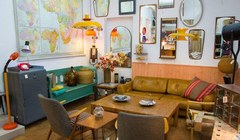 Ruta de tiendas decoraci n el rastro for Mercadillo muebles madrid
