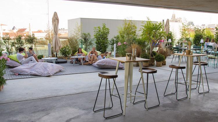 Azotea Forus Barceló Terraza En La Azotea Del Mercado Barceló
