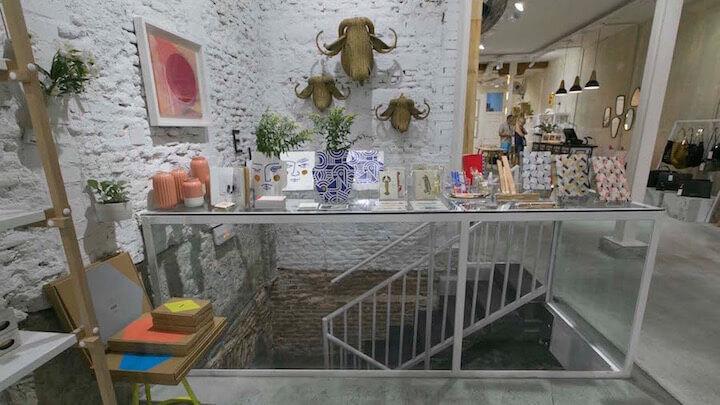 El Moderno. Tienda de diseño en Malasaña
