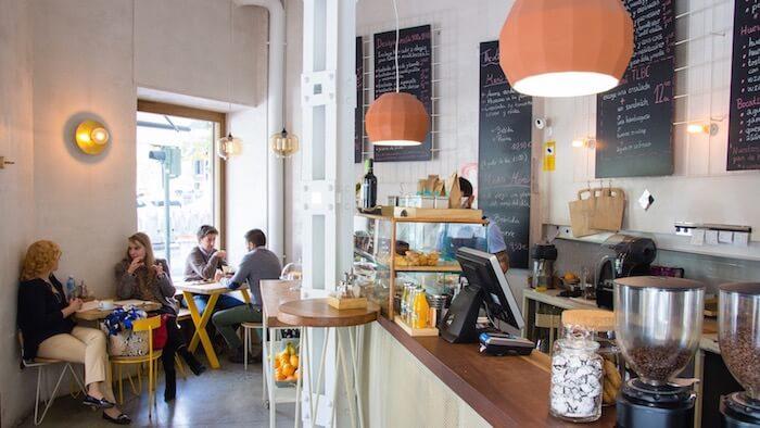 The Little Big Café, menú del día, barrio de Salamanca