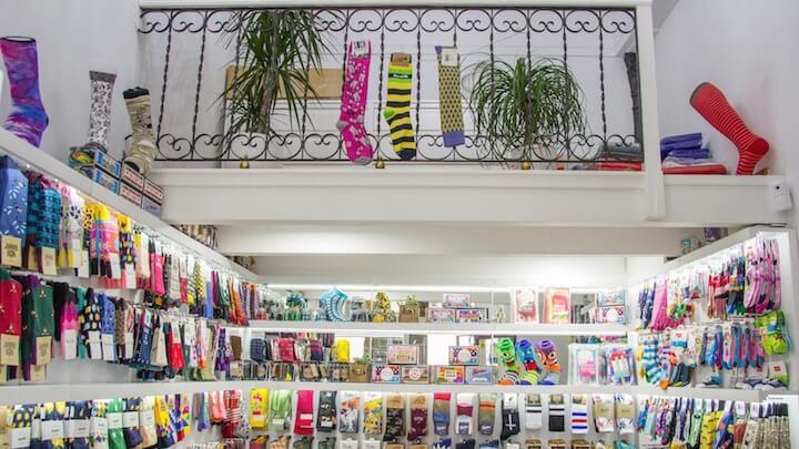 Socks Market. Tienda de calcetines en Chueca