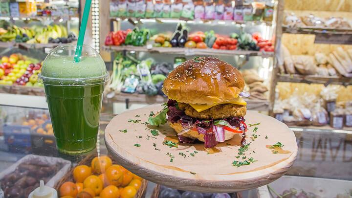 La Huerta de Almeria Burger vegana