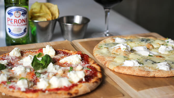 Fortino Pizzas Margarita Y Quattro F