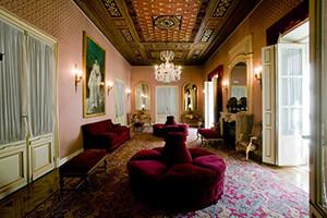Palacio Bauer (actual Escuela Superior de Canto. Sala de estar).