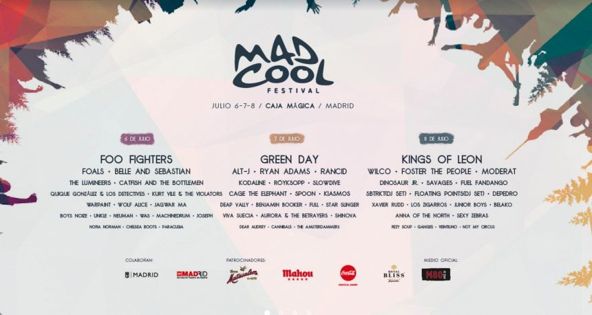 Cartel Mad Cool 2017