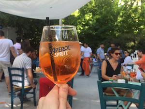 Terraceo Party Aperol da la bienvenida al verano en Madrid