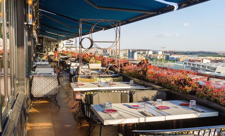 Sépt7ma Restaurante Y Coctelería En La Terraza Del Hotel