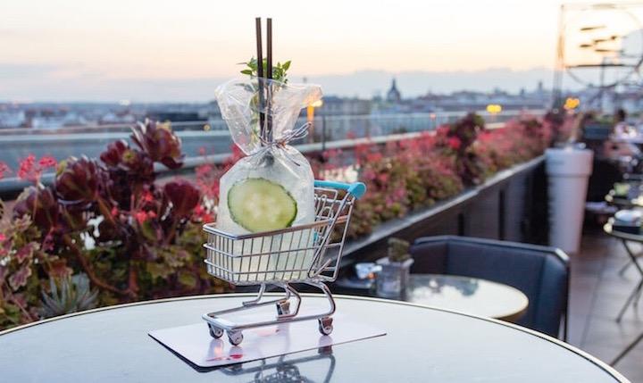 Sépt7ma. Restaurante y coctelería en la terraza del Hotel Only You