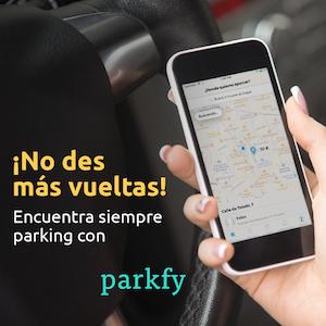 Parkfy, app aparcamiento