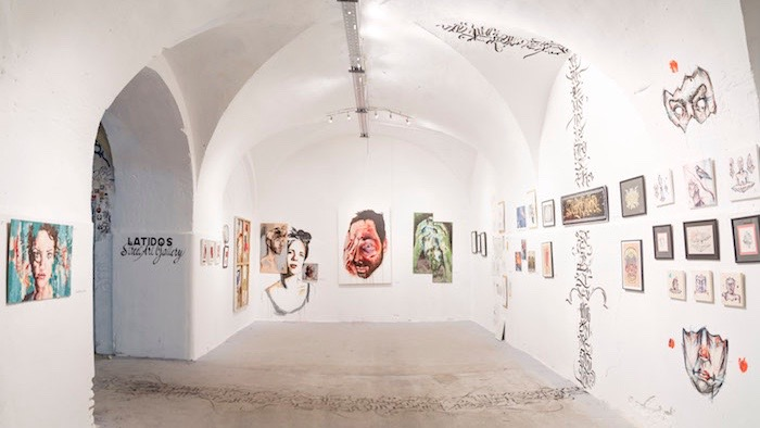 Exposición en Tabacalera- Hybrid 2017.