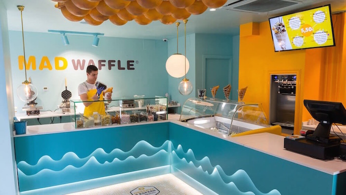 Madwaffles, el primer local dedicado a los bubble waffles en Madrid