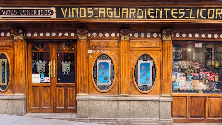 Ángel Sierra, taberna en Chueca. Tabernas castizas de Madrid